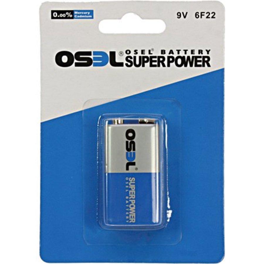 Osel Batterijen power e-block 1stuk 9 volt