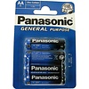 Panasonic Panasonic Batterijen R6 Mignon AA 4 stuks
