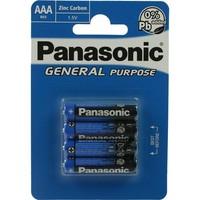 Panasonic Batterijen micro aaa 4stuks