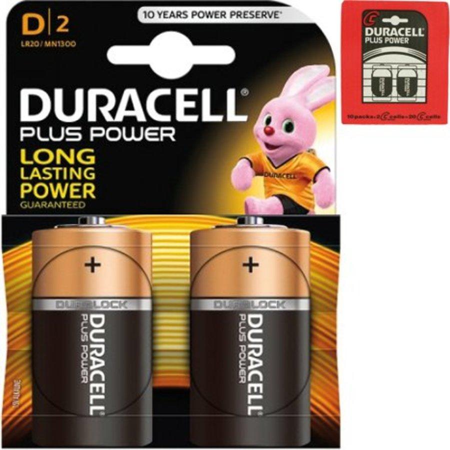 Duracell Batterijen plus alkaline baby