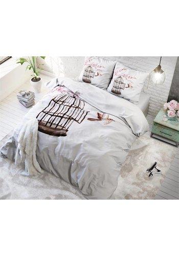 Sleeptime Dekbedovertrek Live Free White