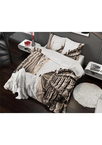 Sleeptime Housse couette  Vintage Bridge Taupe