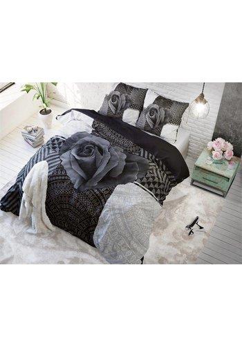 Sleeptime Dekbedovertrek PL Garden Rose 2 Anthracite