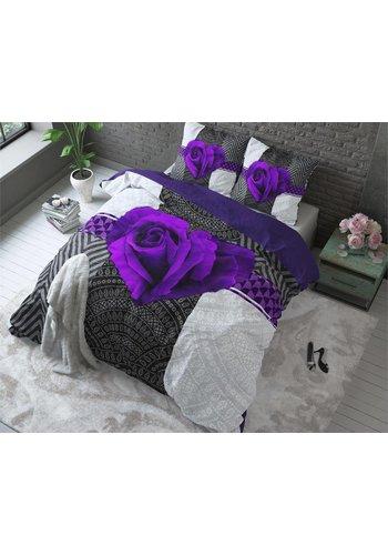 Sleeptime Dekbedovertrek PL Garden Rose 2 Purple