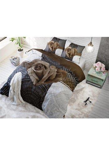 Sleeptime Dekbedovertrek PL Garden Rose 2 Taupe