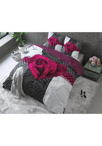 Sleeptime Dekbedovertrek PL Garden Rose 2 Hot Pink