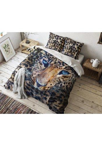 Sleeptime Dekbedovertrek Cheetah Taupe
