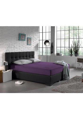 Homecare Laken Hoeslaken Jersey 135 gr. Purple