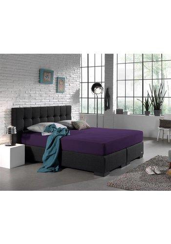 Homecare Laken Hoeslaken Dubbel Jersey 220 gr. Purple