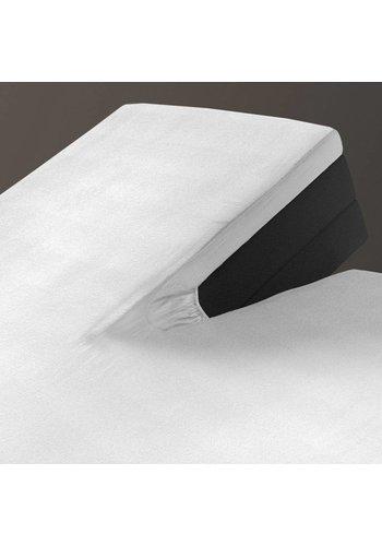 Homecare Laken Hoeslaken Splittopper Jersey White