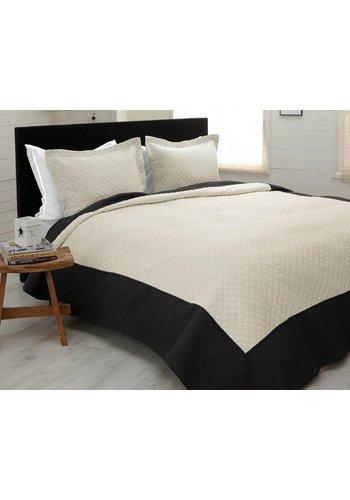 Sleeptime Bedsprei Minsk Cream/Anthracite