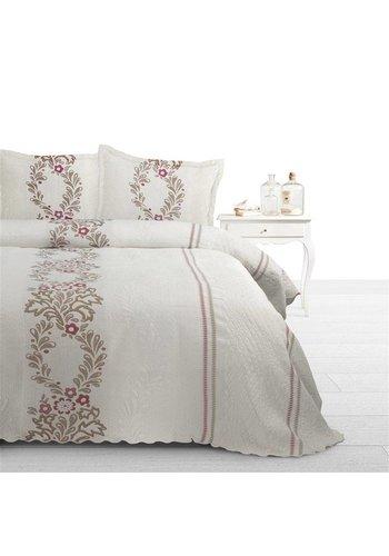 Fancy Embroidery Bedsprei SPR FCY Yolanda B Cream