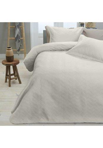 Sleeptime Bedsprei Wave Creme