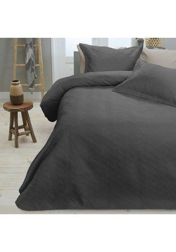 Sleeptime Bedsprei Wave Anthracite