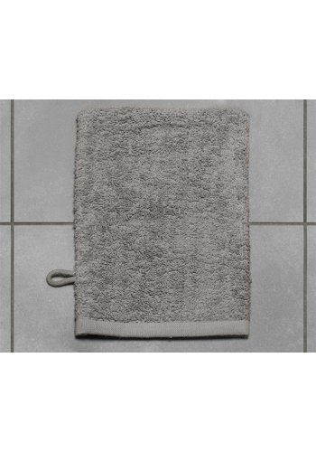 Home Living Badtextiel Washand Taupe (3 in 1 pack)