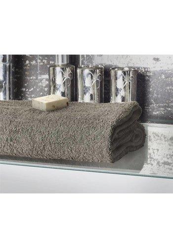 Home Living Badtextiel Handdoek taupe (1 per pak)
