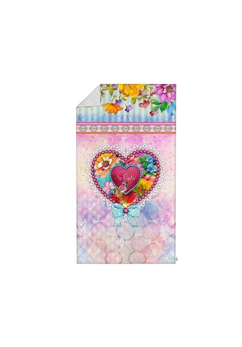 So Cute Badtextiel Serviette  Lizzy Multicolore