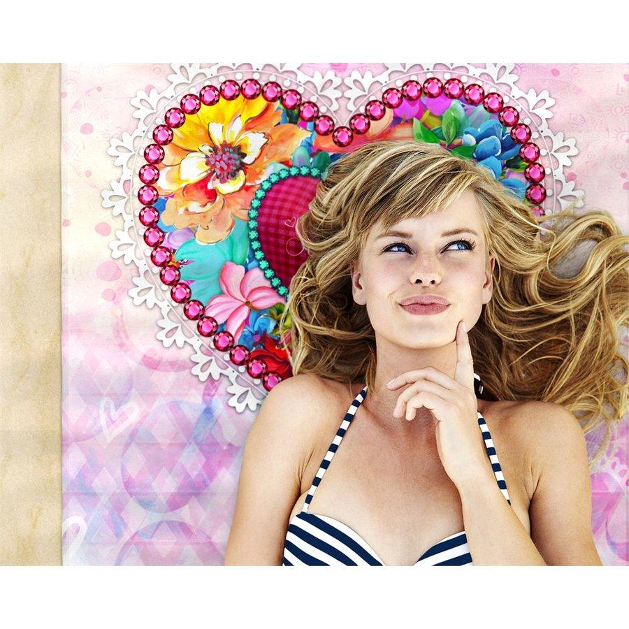 Badtextiel Serviette  Lizzy Multicolore
