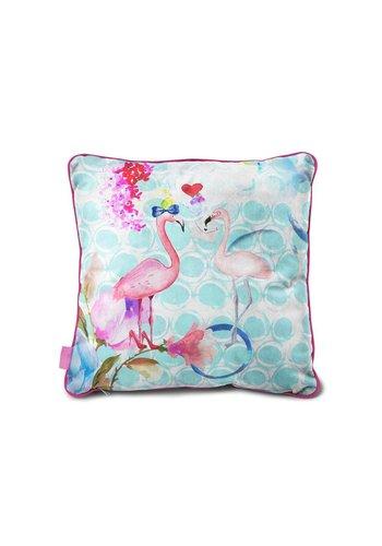 So Cute Coussin  Flamingo Multicolore