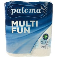 Paloma Keukenrol 2-laags 220x222mm 100% cellulose