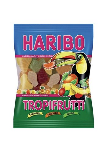 Haribo Tropisch fruit 100gr