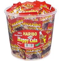 Haribo Happy cola 100 stuks mini bak