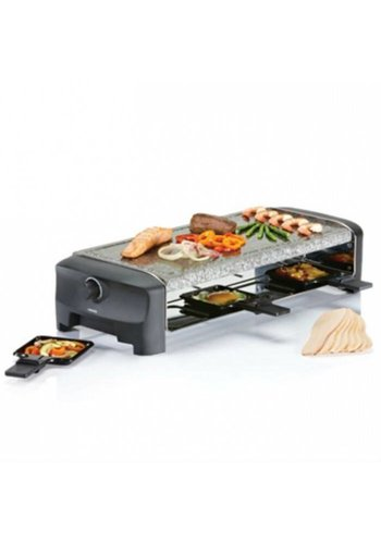 Princess Princess Raclette 8 Stone Grill Party zwart