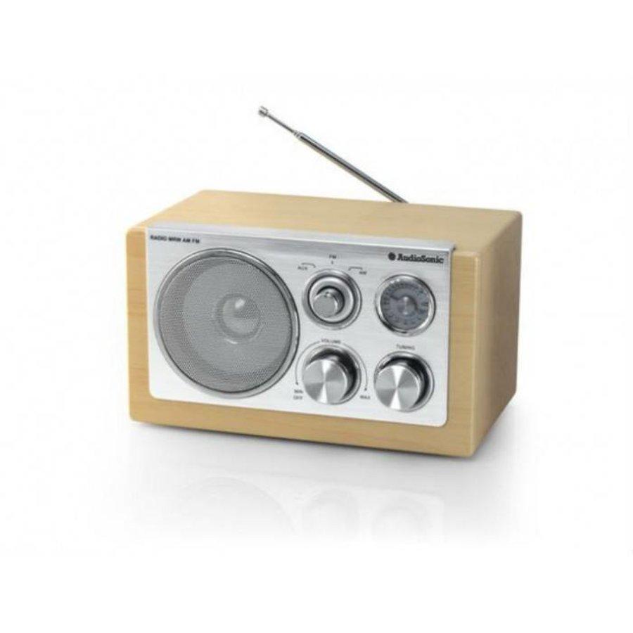 Tristar Retro radio taupe