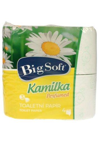 Big soft Big soft papier toilette 3-Plis 4x160 Pièces de kamilka