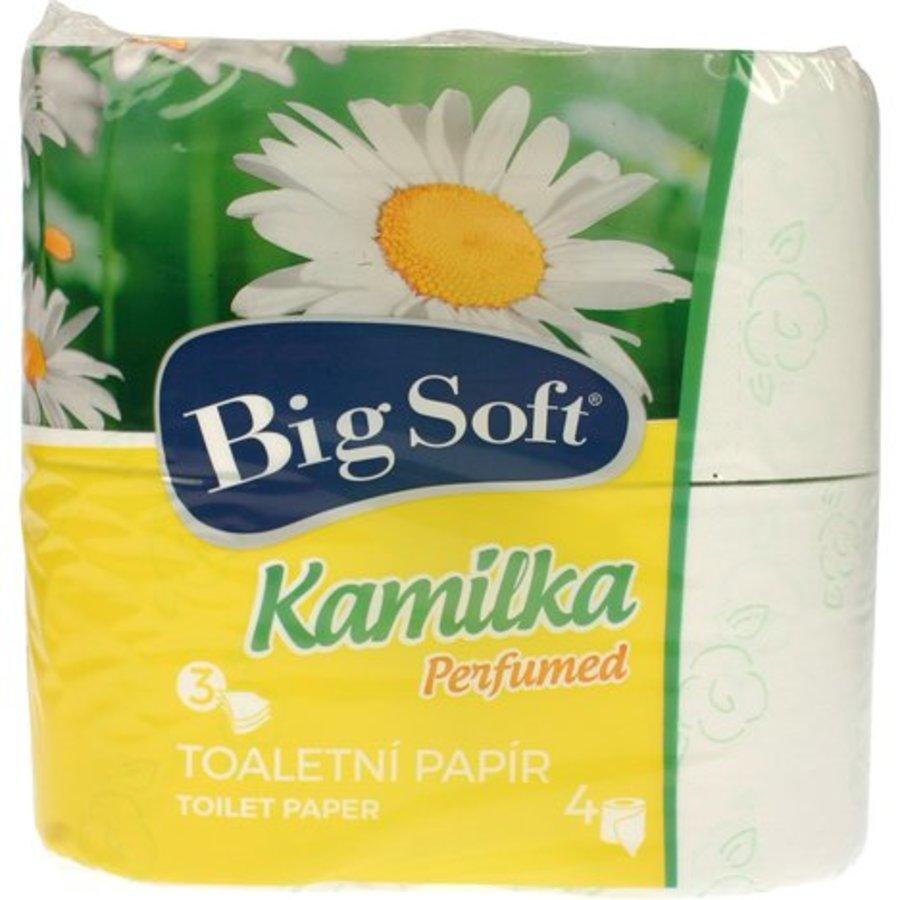 Big soft Toiletpapier 3-laags 4x160 stuks kamilka