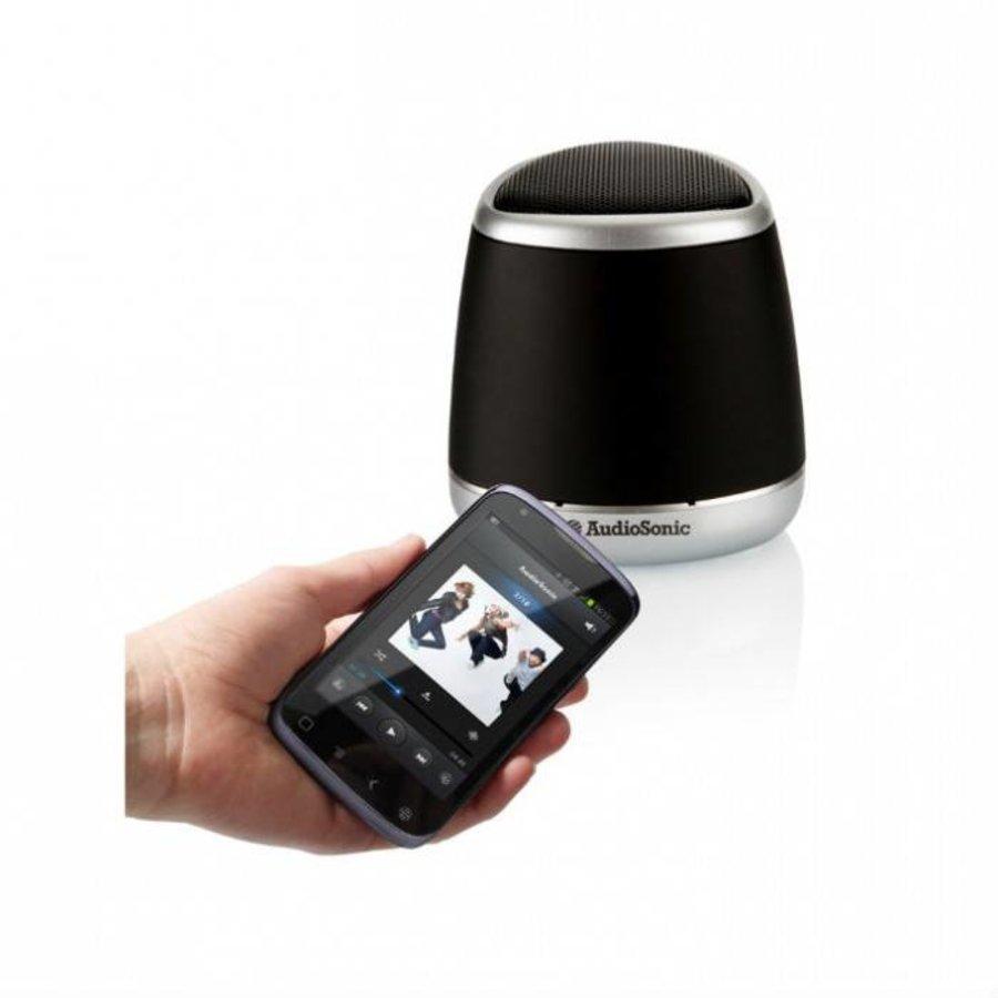 AudioSonic Haut parleur noir