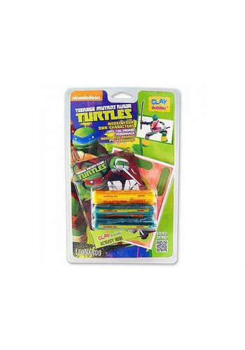 Neckermann Teenage mutant Ninja Turtles plasticine