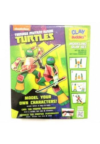 Neckermann Neckermann Teenage mutant Ninja Turtles plasticine set groen