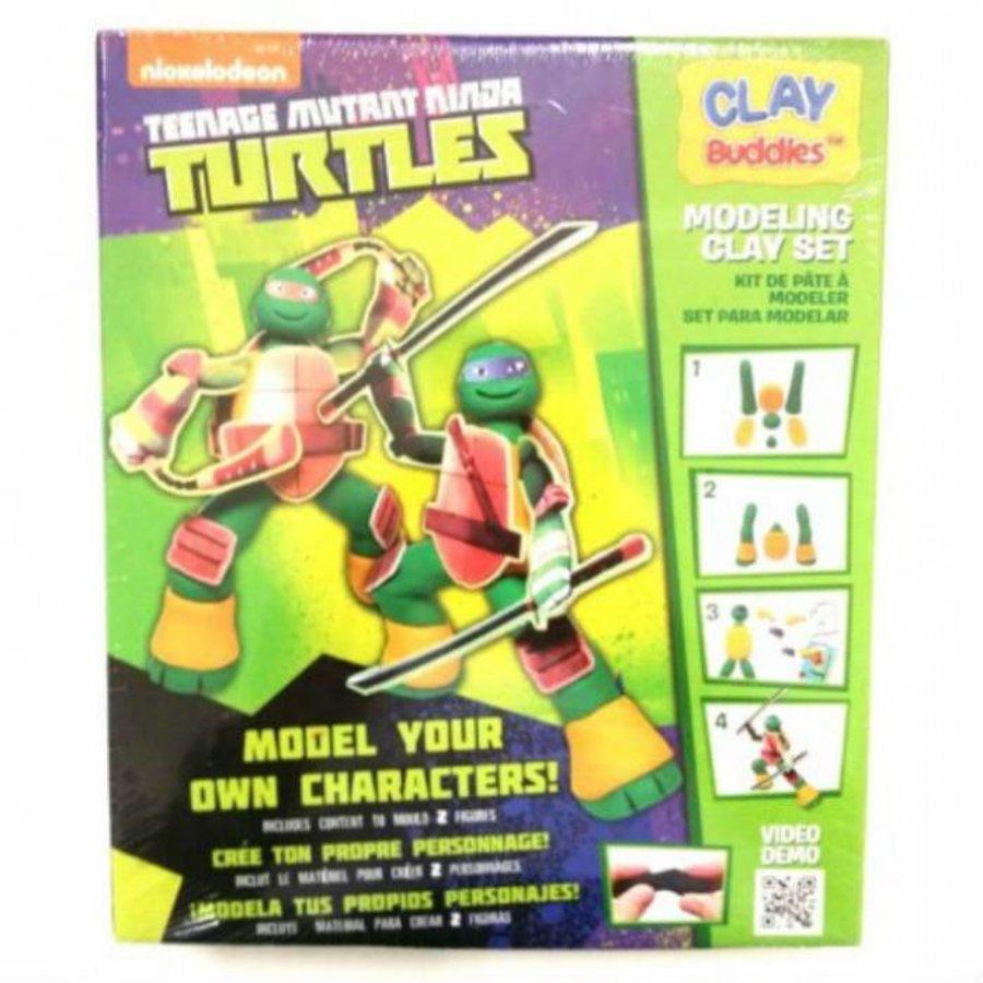 Neckermann Teenage mutant Ninja Turtles plasticine set groen