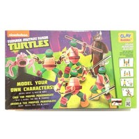 Neckermann Teenage mutant Ninja Turtles plasticine set groen