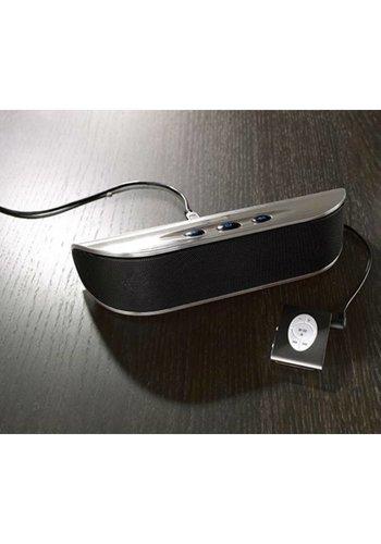 Tchibo Neckermann Haut-parleur portatif  argent