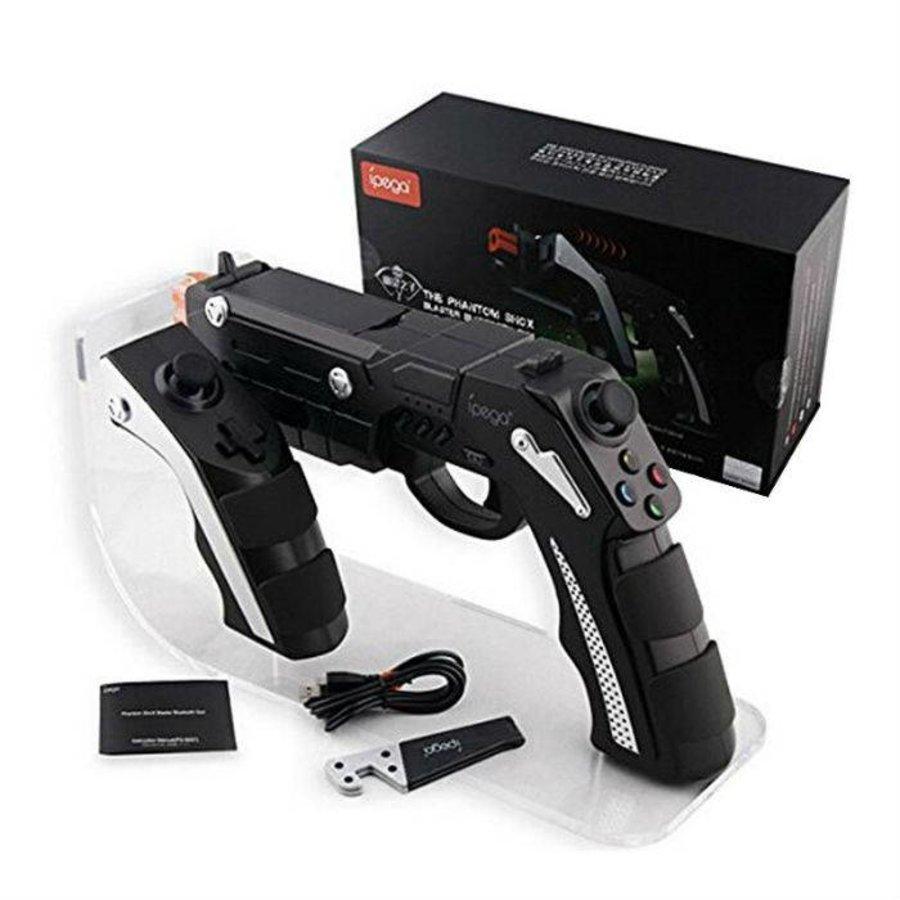 Ipega Bluetooth Game Pistol PG-9057 Phantom ShoX Blaster zwart