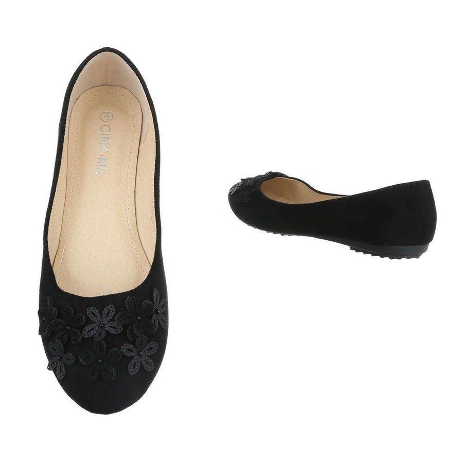 Damen ballerinas  zwart