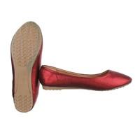 Dames ballerinas donker rood