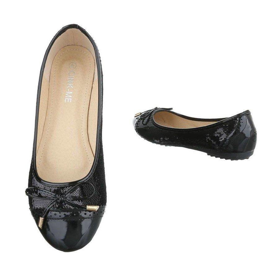 Dames ballerinas  zwart