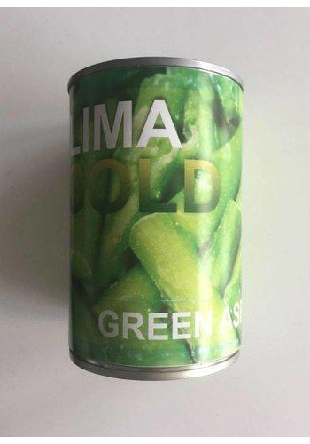 Neckermann Groene asperges gesneden  411 gram: 6 blikken