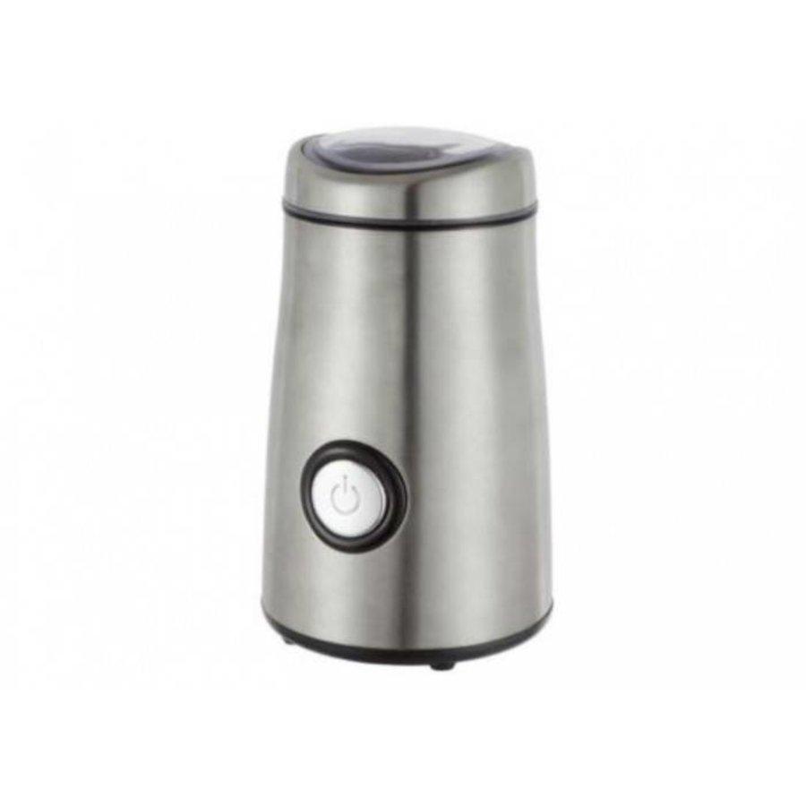 Princess Koffiemolen RVS Deluxe zilver