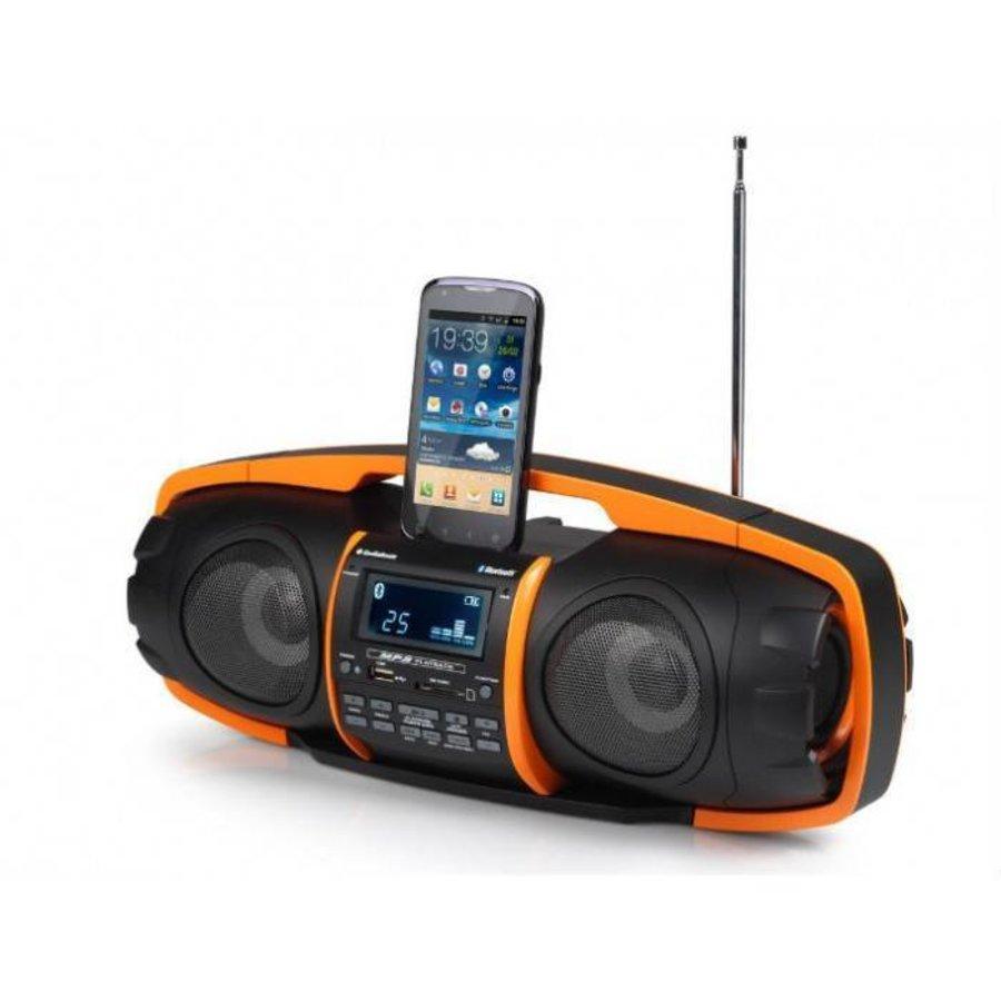 AudioSonic Beatblaster orange