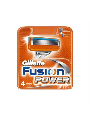 Gillette Fusion power 4 stuks