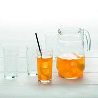 7-delige schenkkan set van glas