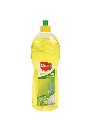 Elina Elina Afwasmiddel citroen 1 liter geel