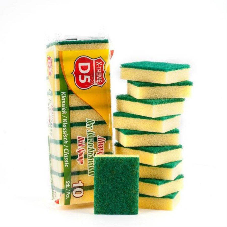 D5 X-treme Abrasive sponge 10 pieces