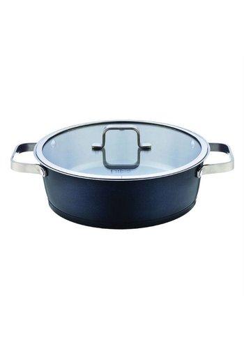 Falez Pan cuisinier Chroma en acier inoxydable de 26 cm