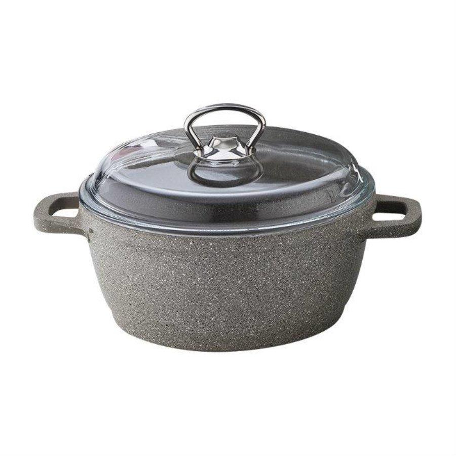 Falez Suppe Pfanne Granit Silico beige