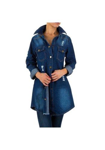 HF-Fashion Dames Jack van Hf-Fashion Blauw